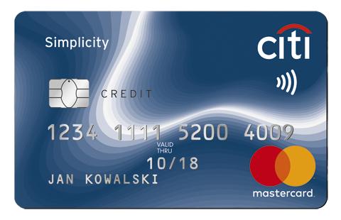 300 zł w formie uznania za kartę kredytową w Citibank