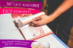 Pączek dla każdego kto kupi książkę @ Księgarnia Autorska