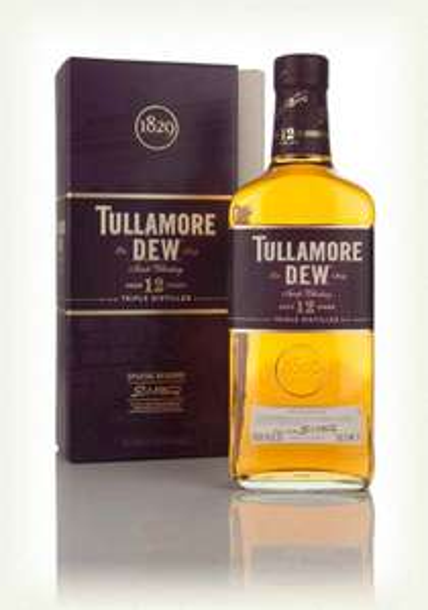 WHISKEY TULLAMORE D.E.W. 12YO SPECIAL RESERVE  0,7L + KARTON