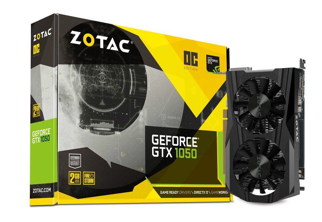 ZOTAC GeForce GTX 1050 2GB GDDR5