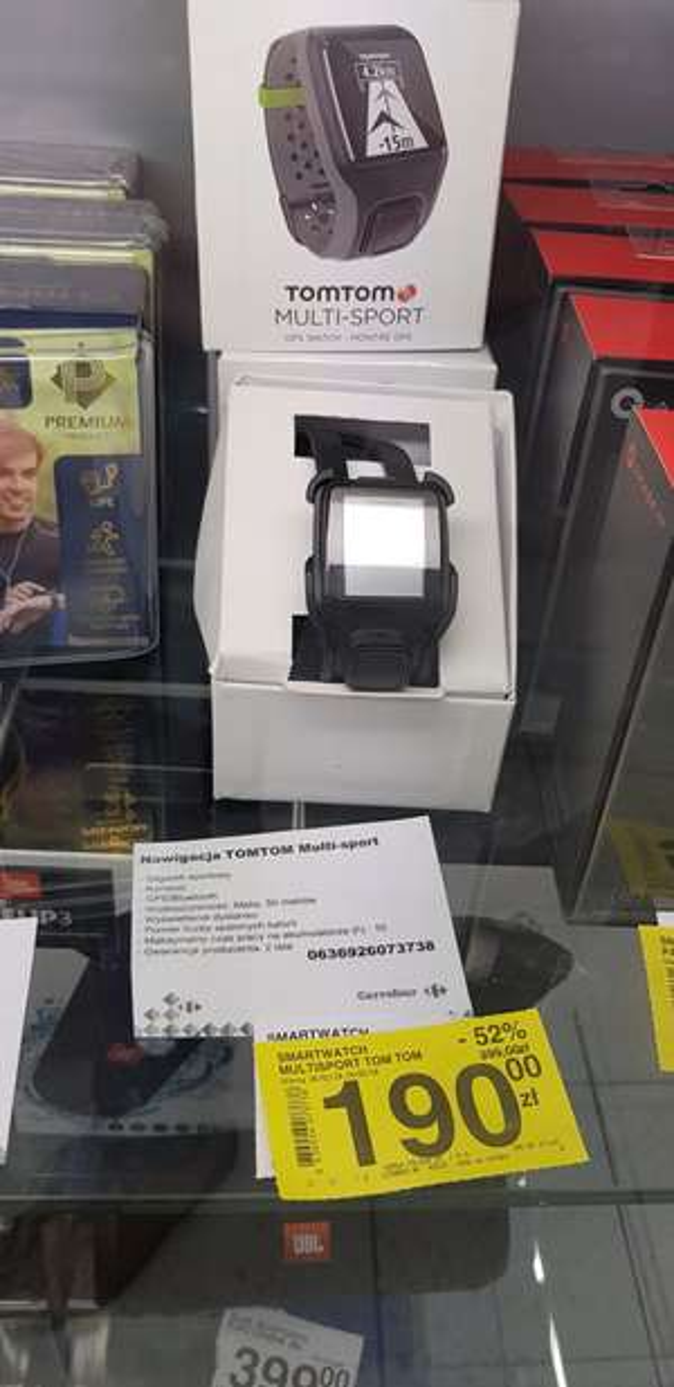 TOMTOM MULTI-SPORT ZEGAREK SPORTOWY GPS
