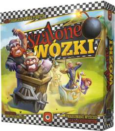 Gra planszowa Szalone wózki @ cdp.pl