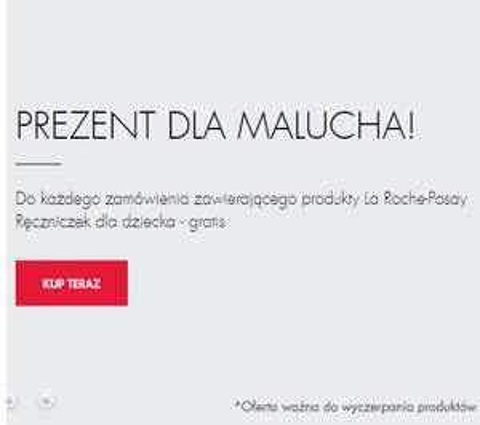 Super pharm: ręcznik dla dziecka gratis do zakupów La roche posay