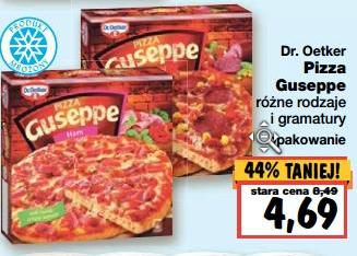 Pizza Guseppe taniej o prawie połowę @ Kaufland
