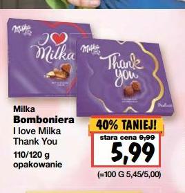 Bombonierki od Milki na szczególne okazje w cenie 5,99zł @ Kaufland