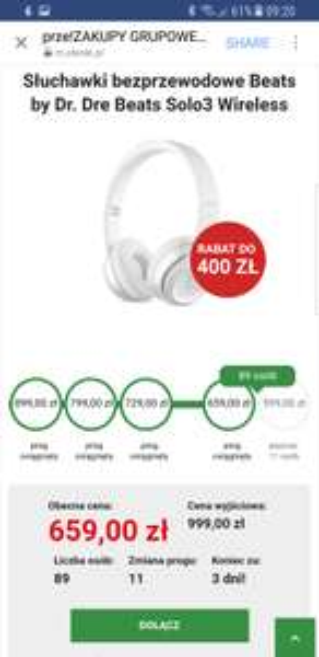 Słuchawki bezprzewodowe Beats by Dr. Dre Beats Solo3 Wireless