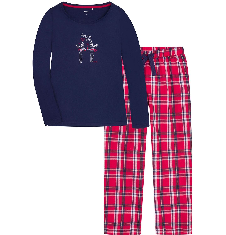 Dwuczęściowa piżama damska lub męska za 45,90zł @ Endo