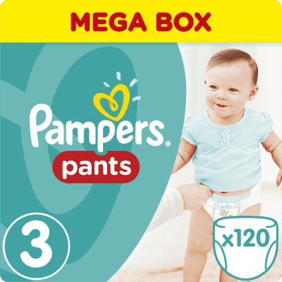 Pampersy Pants rozmiar 3 midi 120szt na FEEDO.pl MEGA BOX pieluchomajtki Pampers pieluszki