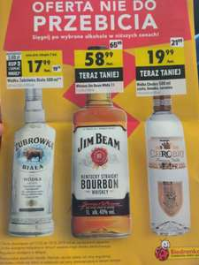 Jim Beam White 1L w Biedronce
