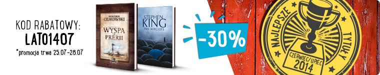 100 Najlepszych książkowych nowości -30% @ MERLIN.PL
