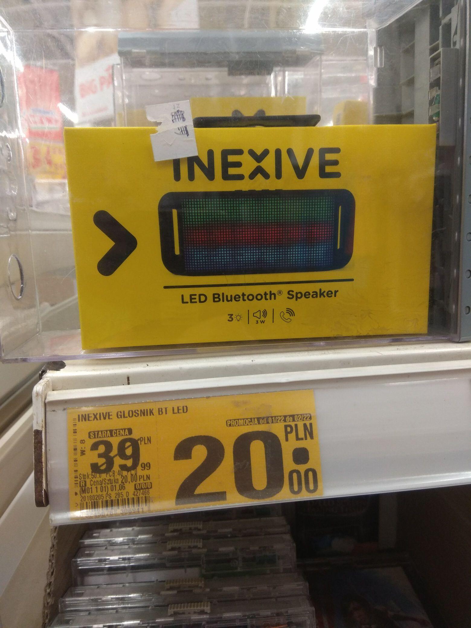 GŁOŚNIK BLUETOOTH INEXIVE @ Auchan (Zabrze)