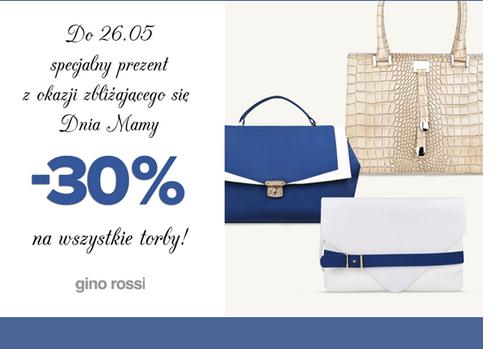Rabat na torby -30% @ Gino Rossi