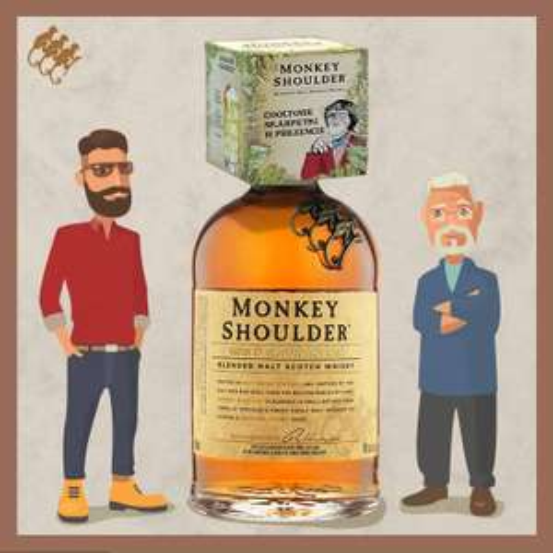 Monkey Shoulder promocja w żabce
