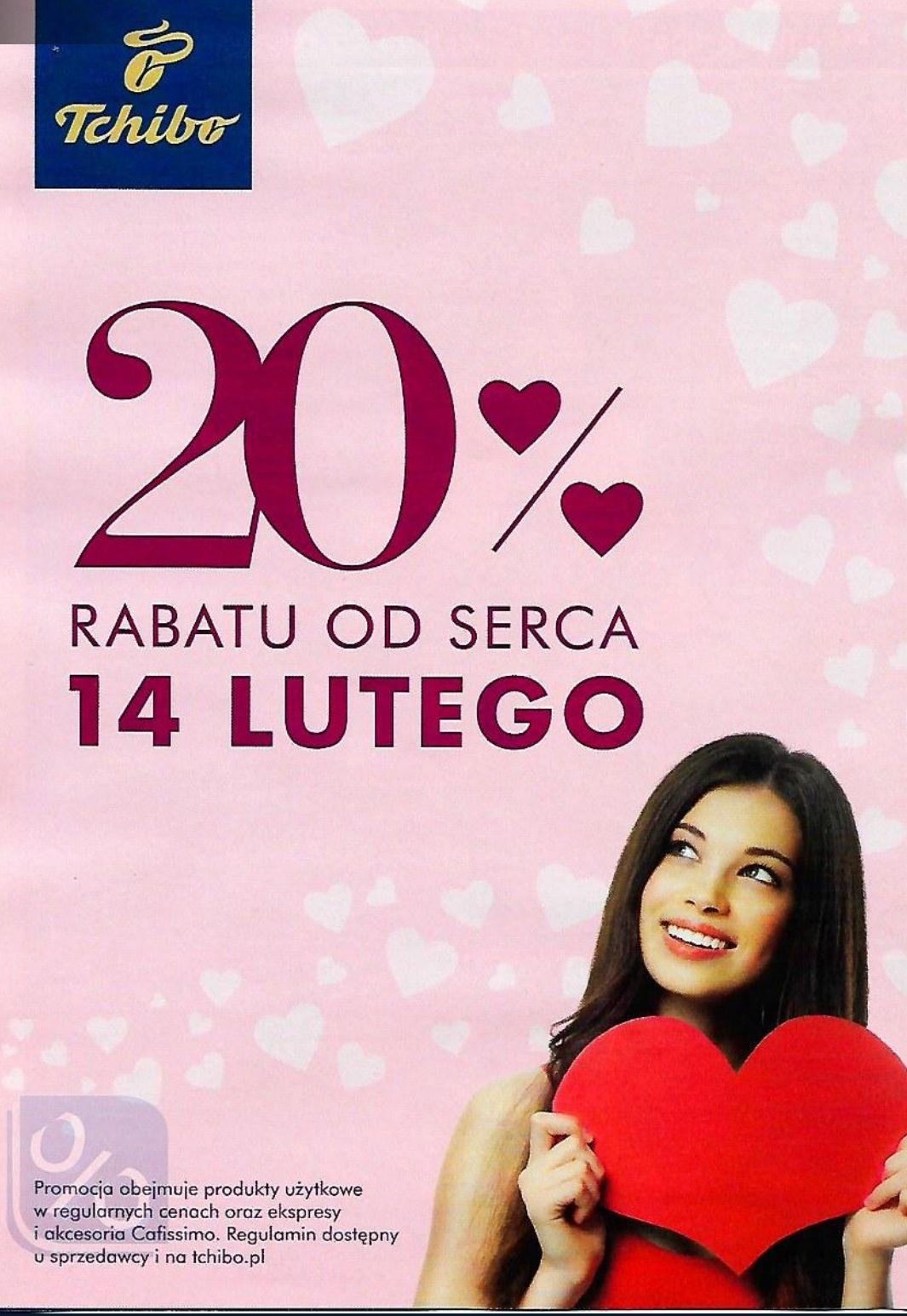Promocja -20% ną wszystko w Tchibo i Tchibo.pl