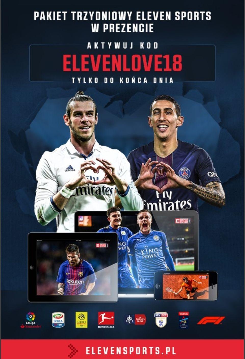 3 DNI Eleven Sports za DARMO!