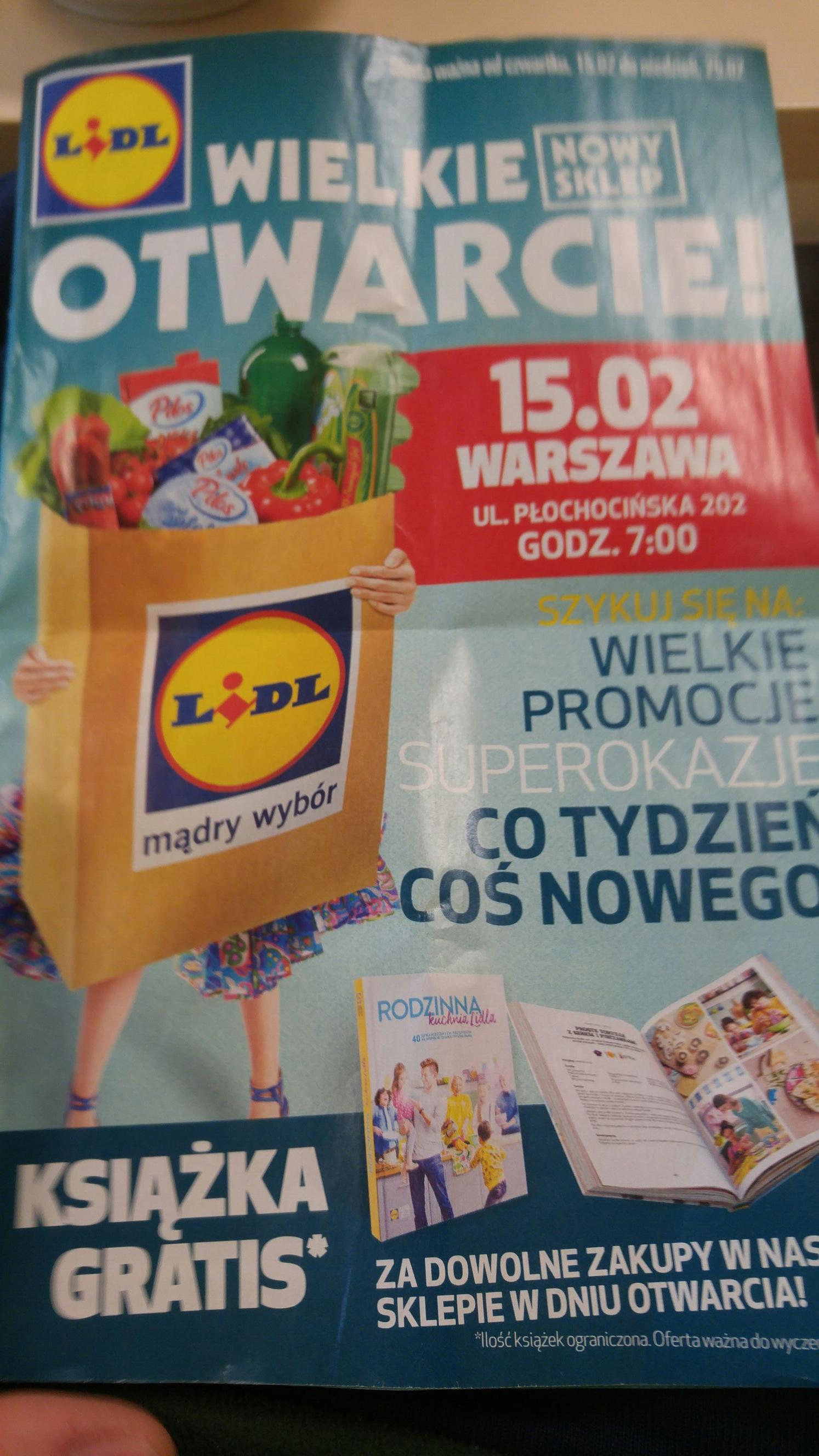 Lidl Warszawa Płochocińska