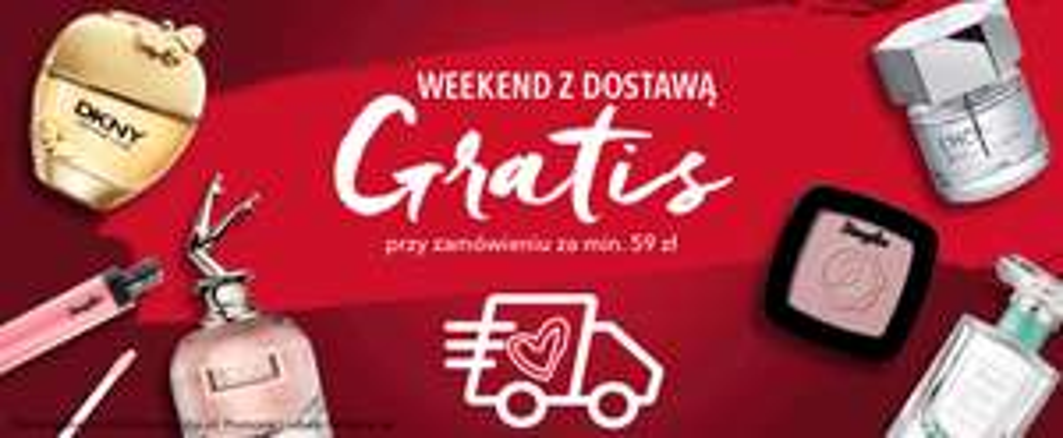 Weekend z dostawą gratis przy zamówieniu za min. 59 zł.