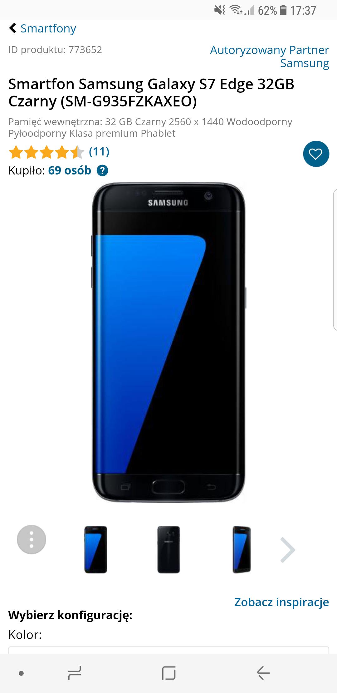 Samsung Galaxy s8, s7 edge,  A5, note 8, J7 morele net