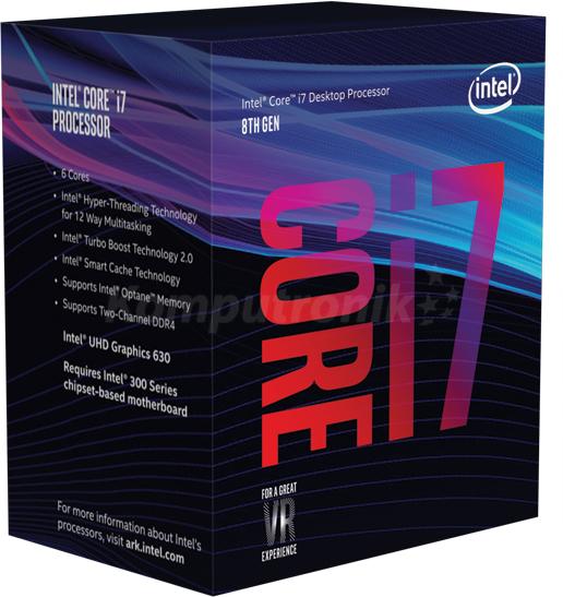 Intel Core i7 8700 i cashback Asus