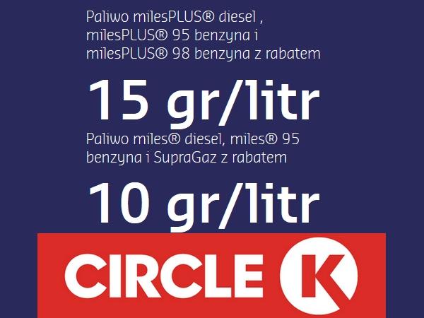 Circle K STATOIL Sodexo eKupony na paliwo -15gr/L i -10gr/L do 30.06.2018! Nowy kupon od 01.03!
