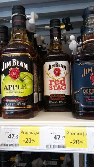 Jim Beam Red Stag 0.7l TESCO