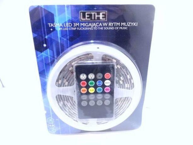 Taśma LED 3M migająca w rytm muzyki Lethe