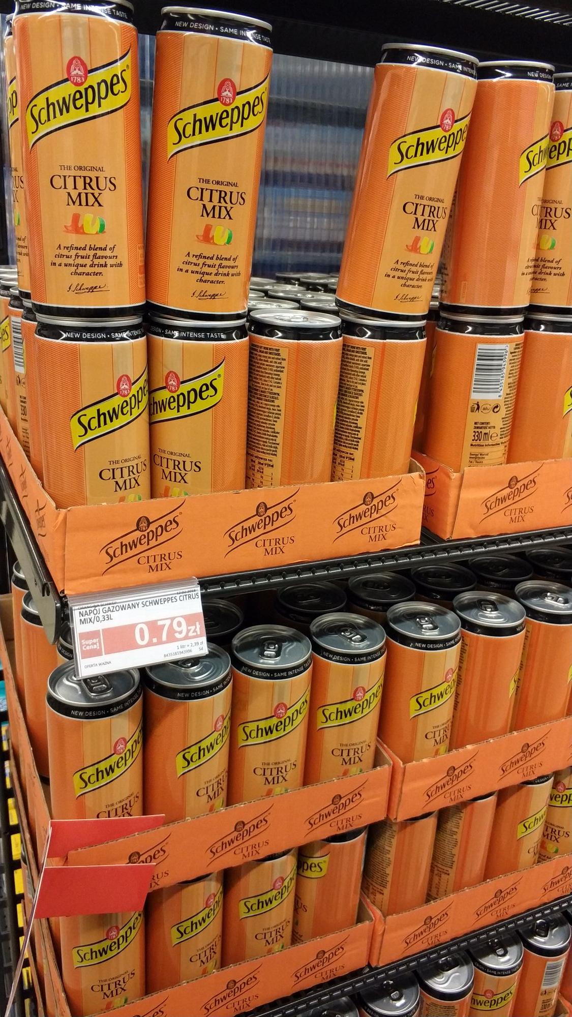 Schweppes Citrus Mix Kielce Piotr i Paweł