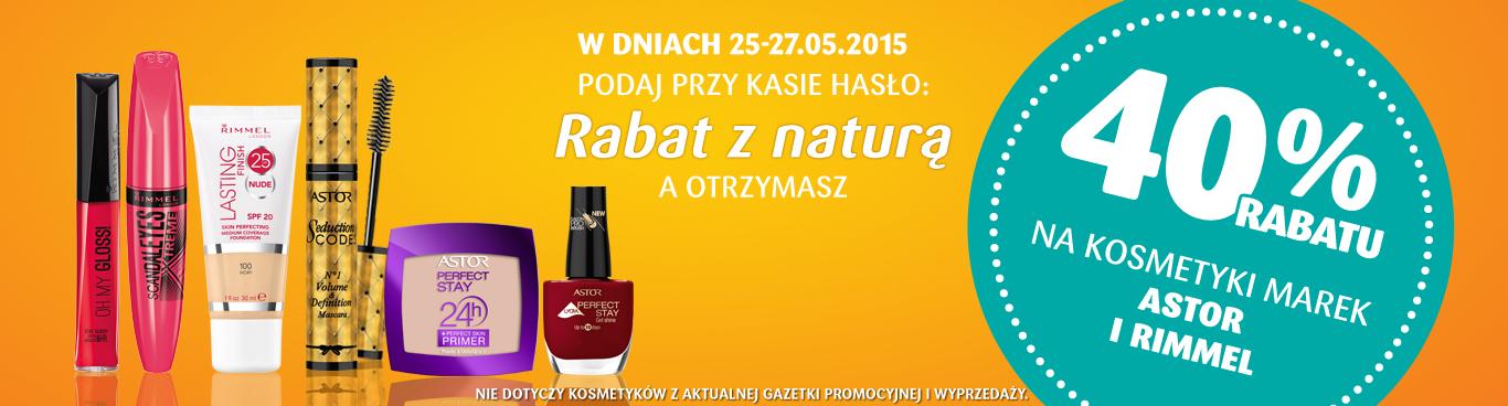 -40% na marki Rimmel i Astor @ Natura