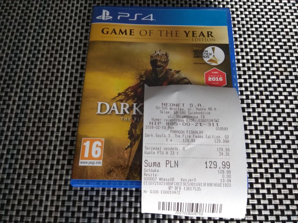 Dark Souls III The Fire Fades PS4 - Neonet