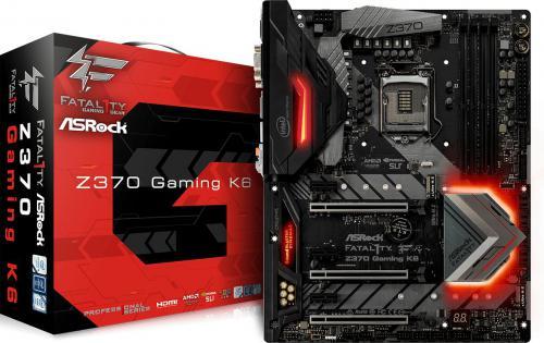 Płyta główna ASROCK Z370 GAMING K6 oraz inne sprzęty gamingowe @ morele.net