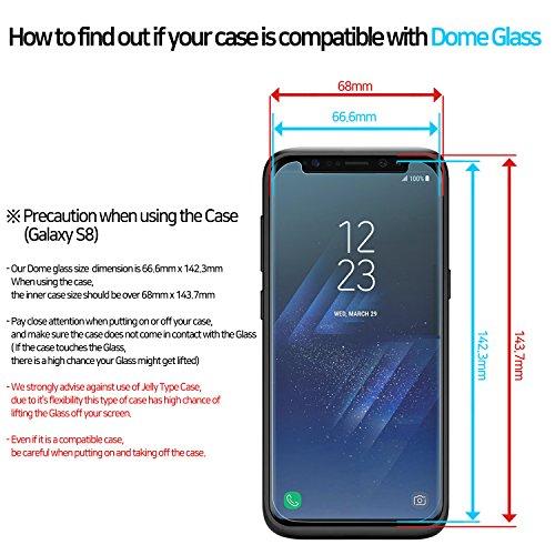 Whitestone Dome Glass Galaxy S8