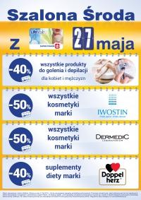 Rabaty 40-50% dla posiadaczy Karty LifeStyle (tylko 27.05.) @ Super-Pharm
