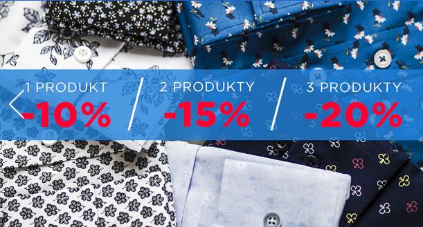 Do 20% zniżki na wyprzedaż (np.koszule po 39zł) @ Wilsoor