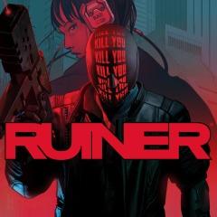 Ruiner PS4 - PS Store - świeża gra akcji, Cyberpunk, rzut izometryczny