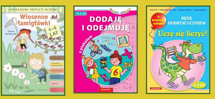 -50% na książki matematyczne dla dzieci + dostawa gratis od 50zł @ Siedmioróg
