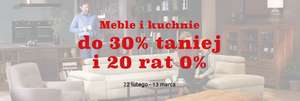 Do 30% rabatu na meble i kuchnie + 20 rat 0% @ Black Red White