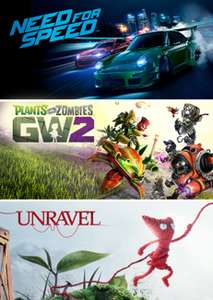 Need For Speed, Plants vs. Zombies Garden Warfare 2, Unravel w pakiecie za 34,97zł [PC] @ Origin