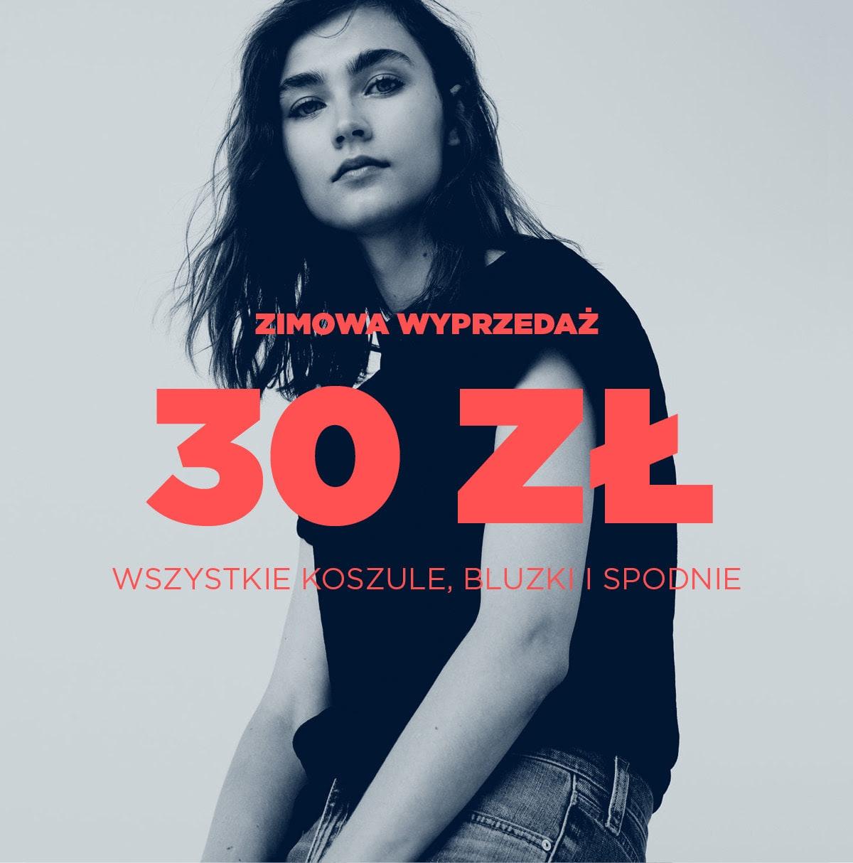 MANGO Wszystkie koszule i spodnie za 30 zł / Wszystko -50% -60% i -70%!