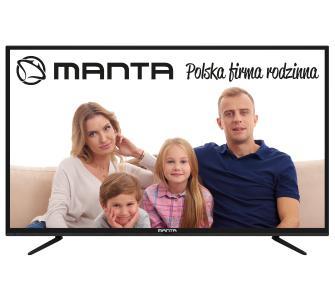 "Telewizor Najtańsze 60"" cali - Manta 60LUA58L 4K UHD w OleOle oraz Euro Rtv Agd"