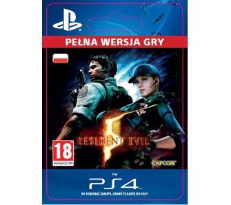 Resident Evil 5 PS4 kod za 24zł @ Euro/OleOle