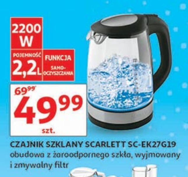 Czajnik szklany w Auchan 2,2l