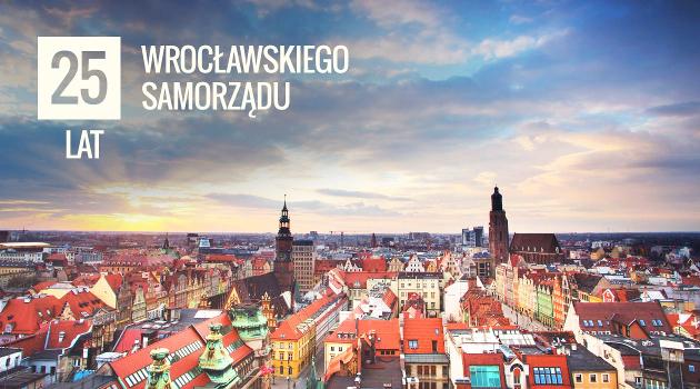 Promocje na 25 lat wrocławskiego samorządu @ Wrocław