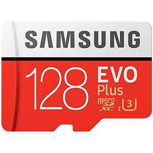 Karta Samsung 128GB Evo Plus Micro SD Card (SDXC) UHS-I U3 + Adapter - 95MB/s