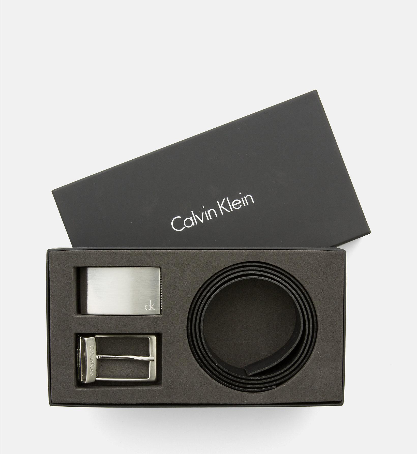 Skórzany pasek Calvin Klein