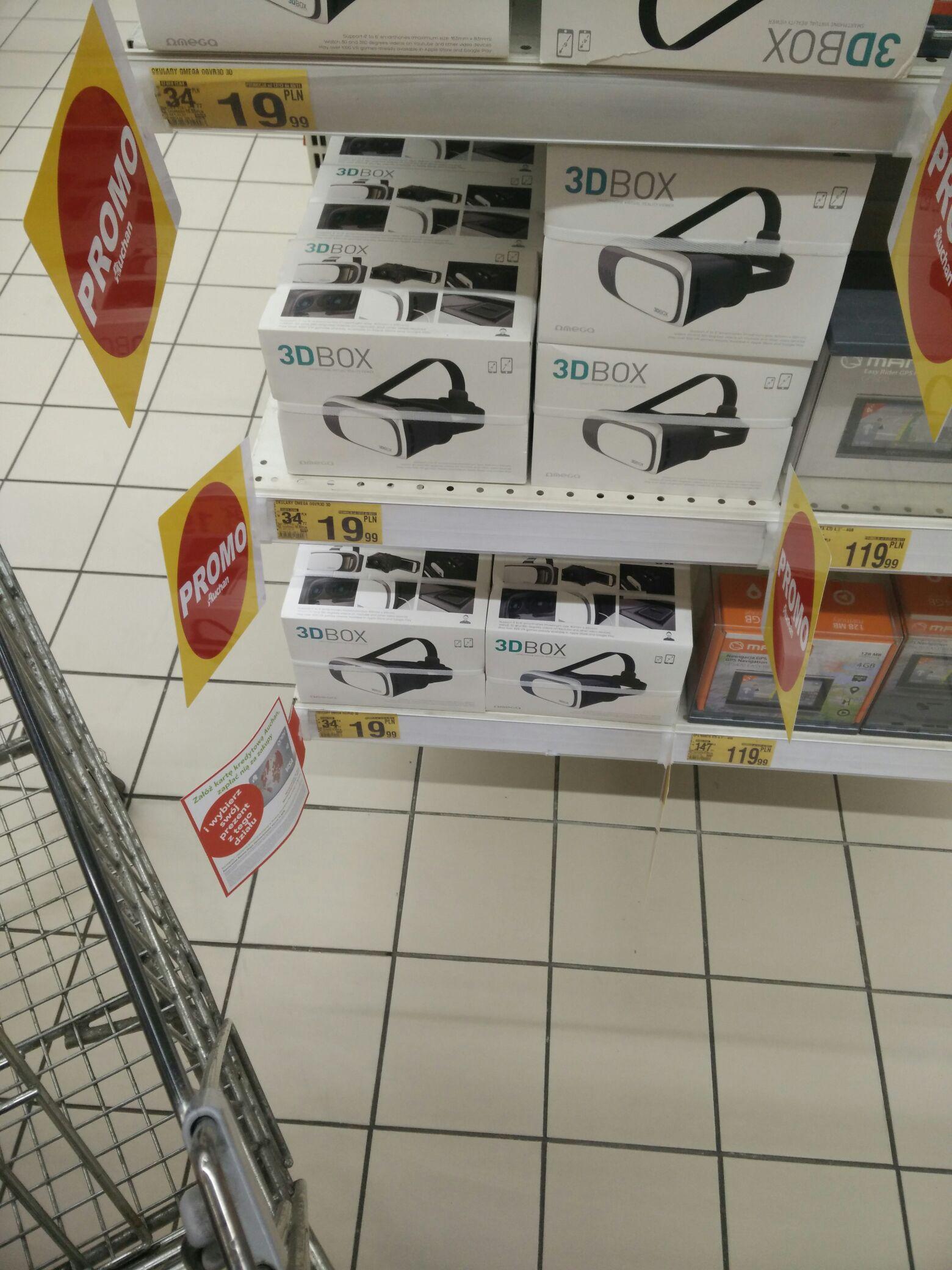 Okulary 3D - Auchan