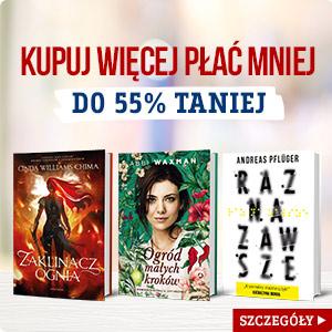 Książki tańsze do 55%