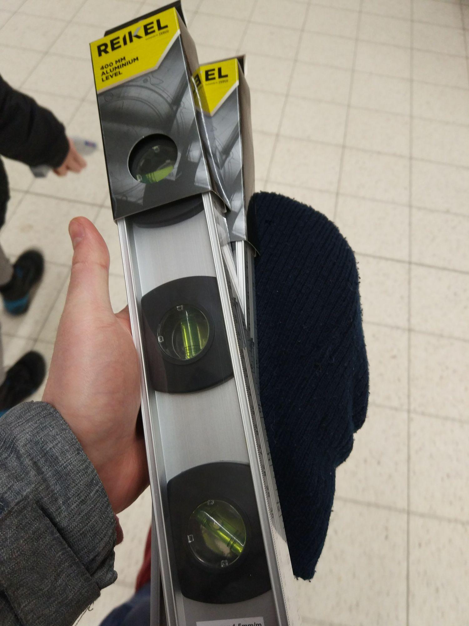 Poziomica 400 mm Tesco Reikel