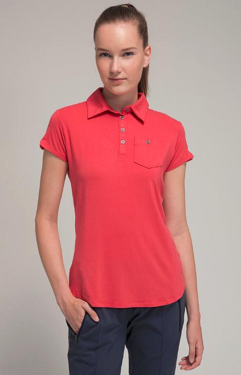 Koszulka polo - Columbia - czerwony