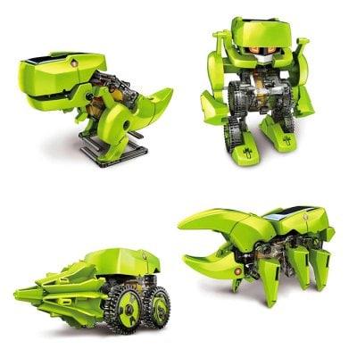 Mini robot dinozaur 4w1