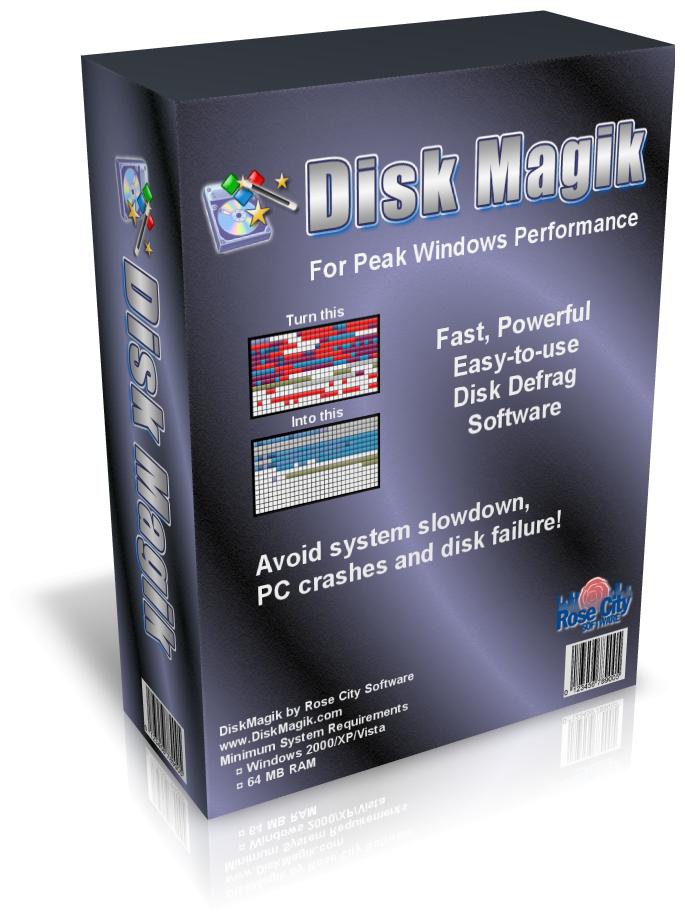 DiskMagik- program do defragmentacji za darmo
